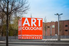 Cologne, Germany - April 17: Art Cologne is an art fair held annually in Colo - stock photo