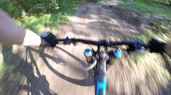 Downhill  freeride Stock Footage