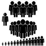 People Talking Icon - stock illustration