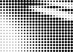 Abstract halftone gradient background - stock illustration