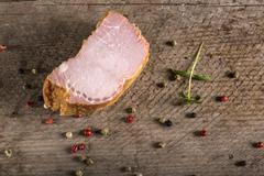 Smoked pork loin - stock photo