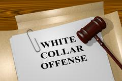 White Collar Offense legal concept Piirros