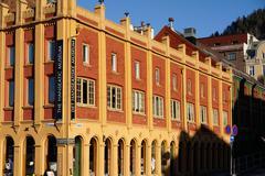 Hanseatic museum building, Bryggen, Bergen, Norway, Hordaland, Scandinavia - stock photo