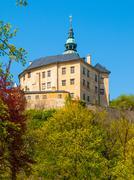 Frydlant Castle in Northern Bohemia - stock photo