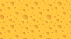 Footage motion cheese  background. 4K  animation Stock Footage