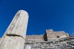Miletus Amphitheater View - stock photo