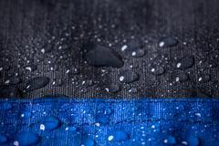 Waterproof fabric, background - stock photo