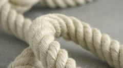 Strong rope Stock Footage