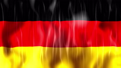 Germany Flag Animated Background - stock footage
