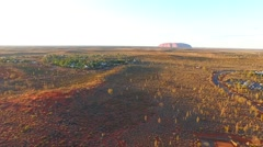 Ayers Rock, Uluru Stock Footage