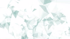 Grey and white triangles. Stock Footage