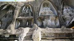 Gunung Kawi, Bali Temple, Ubud, Indonesia Stock Footage