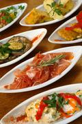 Spanish tapas - stock photo