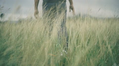 Green Field of Dreams Stock Footage