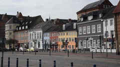 FLENSBURG - GERMANY - April 2016 - The quay. Stock Footage