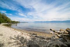 Geneva lake beach Kuvituskuvat