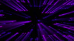 Shine violet disco dots Stock Footage