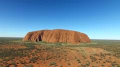 Ayers Rock, Uluru Stock Footage