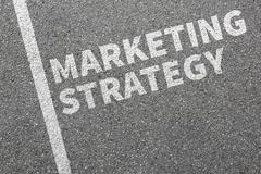 Marketing strategy sale sales advertisement company business concept - stock photo