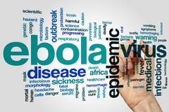 Ebola word cloud Kuvituskuvat