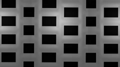 Black & white squares moving up seamless loop - stock footage