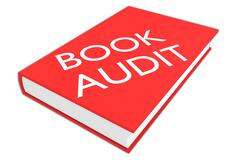 Book Audit concept - stock illustration