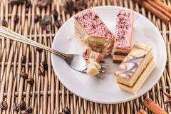 Different pastries Stock Photos