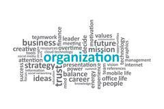 Organization - stock illustration