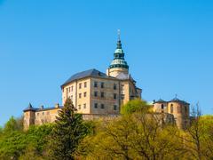 Frydlant Castle in Northern Bohemia Stock Photos