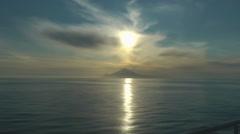 Mount Athos under the sun. Stock Footage