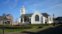 Andreas church, bells at ten o clock Stock Footage