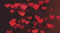 Background Hearts - stock illustration