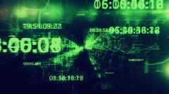 Big Data Abstract - stock illustration