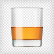 Glass of scotch whiskey Piirros