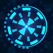 Sci fi futuristic user interface HUD. Piirros