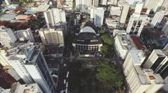 Teatro Guaira - Curitiba Stock Footage