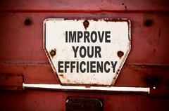 Improve Your Efficiency Stock Photos