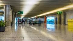 Palma de Mallorca Airport, Spain Stock Footage