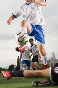 Football match Stock Photos