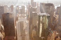 Image of a city landscape - stock photo