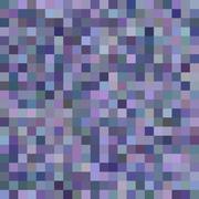 Purple color square mosaic vector background - stock illustration