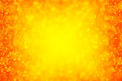 Yellow Red Sparkle Background - stock photo