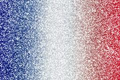 Red White Blue Glitter Texture - stock photo