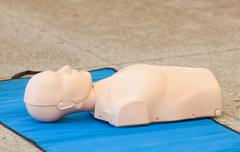 Model of dummy used for CPR training Kuvituskuvat