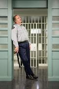 Prison guard Stock Photos