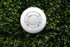 A thermostat Stock Photos