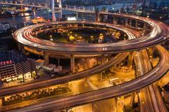 Nanpu bridge shanghai Stock Photos