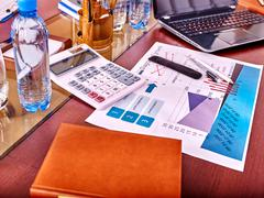 Business interior  in office. - stock photo