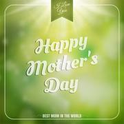 Mothers day background. EPS 10 Stock Illustration