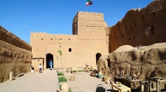 In iran the old castle Stock Footage